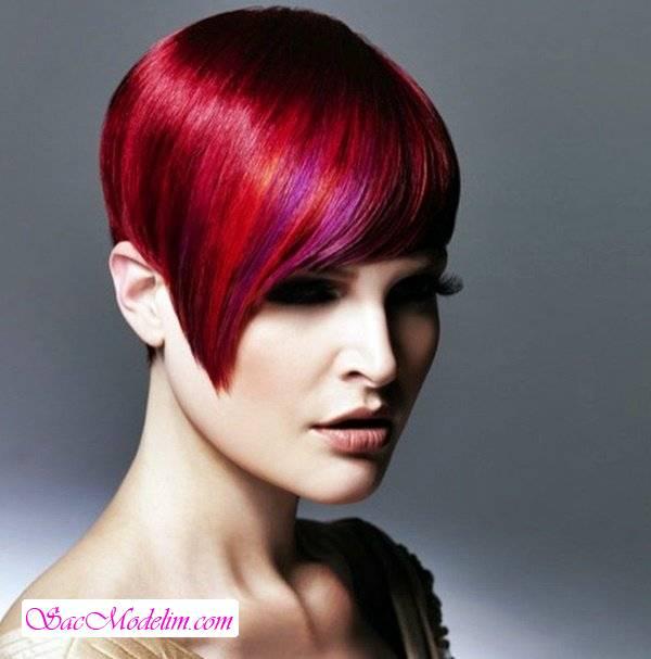 Kızıl Saç Modelleri 2018 Saç Modelleri Kadın Erkek Gelin