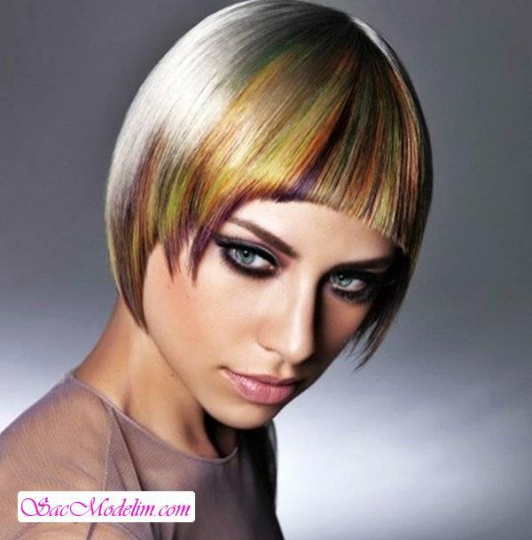 Renkli Saç Modelleri 2018 Saç Modelleri Kadın Erkek Gelin
